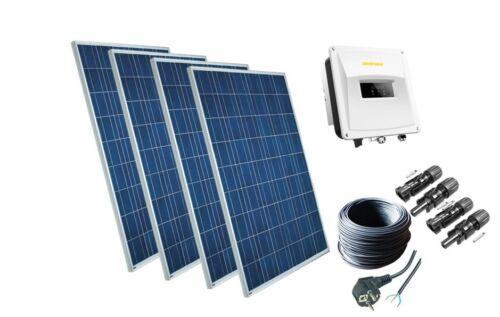 1120Watt Solaranlage Photovoltaikanlage Plug /& Play Komplett Set mit Zeversolar