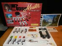 Bob Ross Master Paint Set Oil Color Complete W/ Brushes Paint & Video