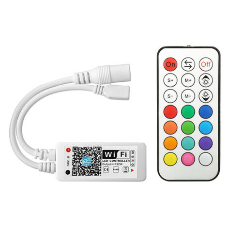 ARILUX SL-LC 10 Super Mini LED WIFI APP Controller RF Remote Control For RGBW