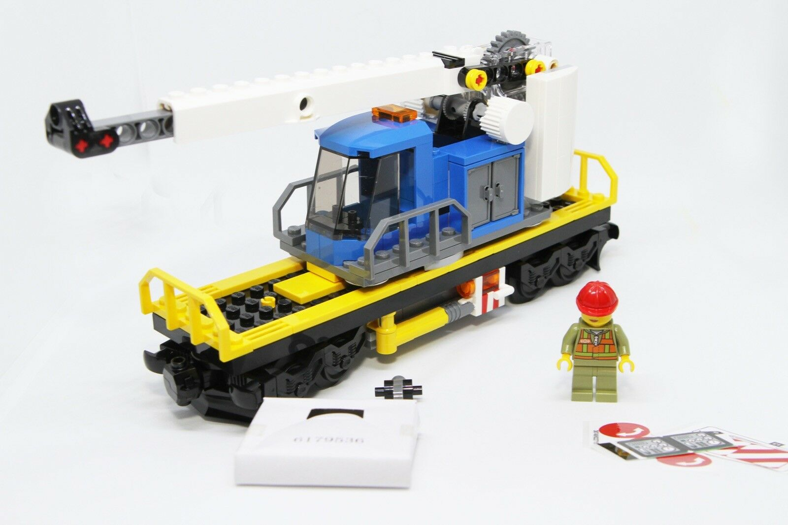 Lego City Cargo Train 60198 GRUE WAGON Transport Seulement-Pas sous tension inclus