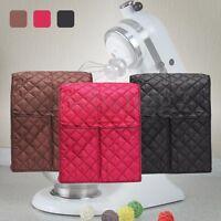 3 Color Cloth Quilted Pocket Blender Mixer Cover + Organizer Bag For Kitchenaid
