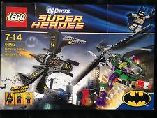 LEGO DC Comics Super Heroes Batwing Battle Over Gotham City (6863) Complete Box