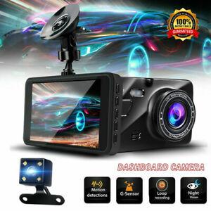 G-sensor-Car-Camera-Dual-Dash-Cam-Front-and-Rear-Night-Vision-140-170-Wide-Angle