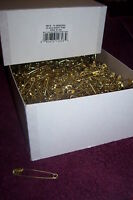Safety Pins 3, 10 Gross, Approx 2,