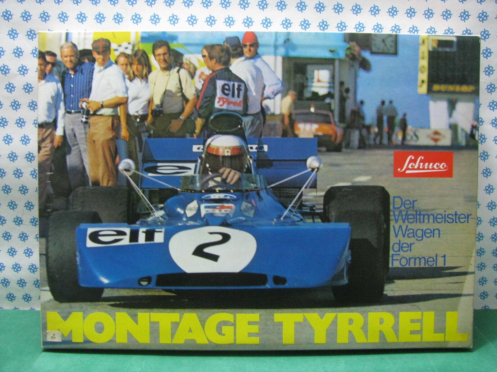 RARE SCHUCO 225196 -  TYRRELL  Formula 1  - Nouveau   Menthe
