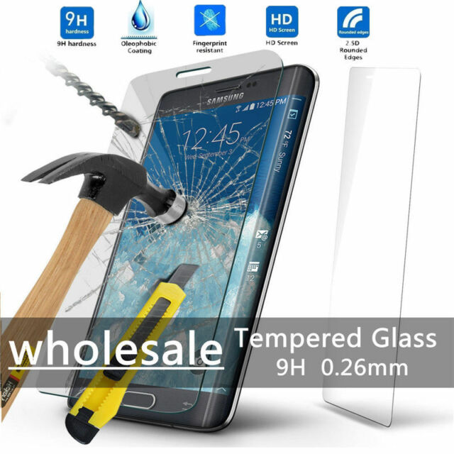 Wholesale Premium Tempered Glass Protective Screen Protector For Samsung Galaxy