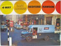 BEDFORD Hawson 4 Way Easy Access - Sales Brochure - Mar 1968 - B1222/3/68