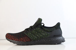 1a40bb375f8b4 Adidas Ultra Boost Clima Cool Black Glow Solar Red AQ0482 8-11 ...