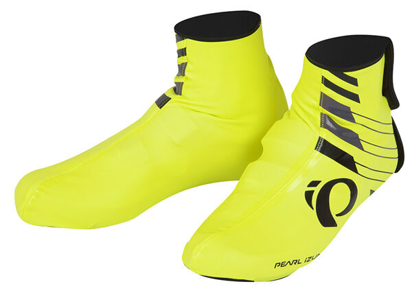 Pearl Izumi 2017 P.R.O. PRO Barrier WxB shoes Covers Booties Yellow - Small