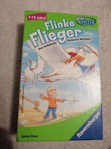 Flinke-flieger-5-10-j-Ravensburger-Spiel-vollstaendig-gebraucht-guter-zustand