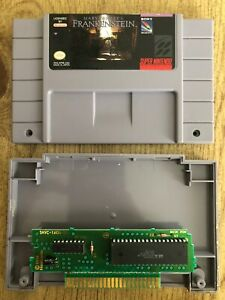 Mary-Shelley-s-Frankenstein-Snes-Super-Nintendo-Game-Only-AUTHENTIC