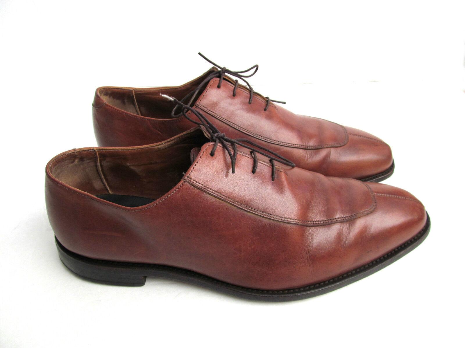 Allen Edmonds Berkeley Bcourir Pointu Split Toe Chaussures 12 3e vintage rare