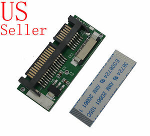"1.8"" 24-Pin 24pin LIF HDD to 2.5"" 7+15Pin 22-Pin SATA male Adapter with cable"