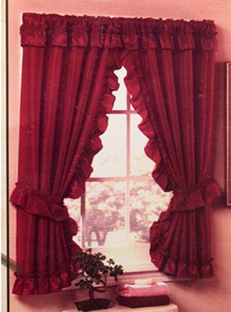 70 W X 45 H Bathroom Window Curtains