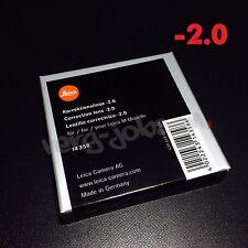 Leica Diopter-Adjustment -2 Correction Lens for M System Viewfinder Original New