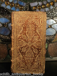 1682-Psalms-of-David-Bible-Songs-Renaissance-Clement-Marot-FANFARE-GOLD-BINDING