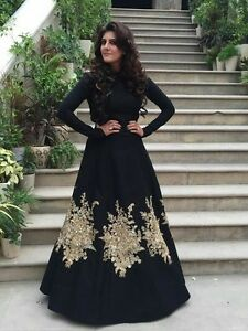 INDIAN ANARKALI SALWAR KAMEEZ SUIT ETHNIC PAKISTANI BOLLYWOOD DESIGNER PARTY