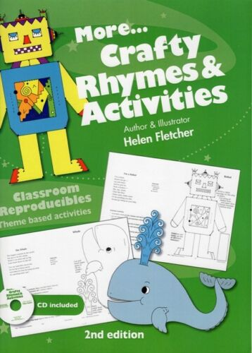 1 of 1 - Teacher craft book - More Crafty Rhymes and Activities