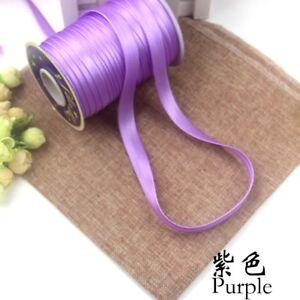 Satin-Bias-Binding-Tape-One-Roll-Polyester-Ribbon-Edge-Trim-DIY-Sewing-Home-Gold