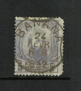 Belgian-Congo-SC-11-Used-Hinge-Remnant-surface-scratch-see-notes-S6369
