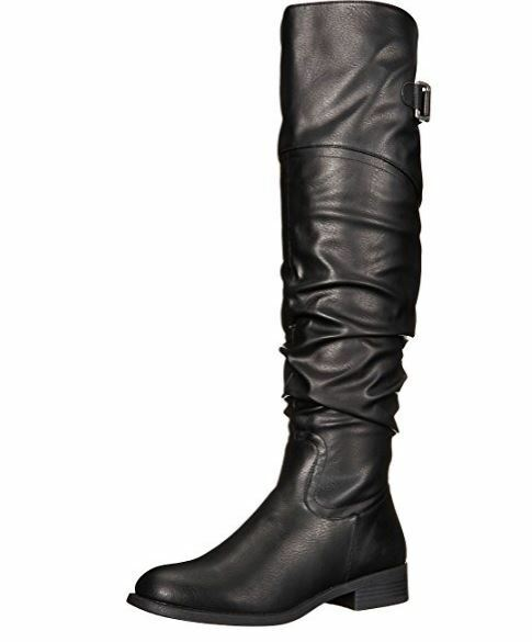 White Mountain 'LACONA' Women's Boot, Black - 5 M