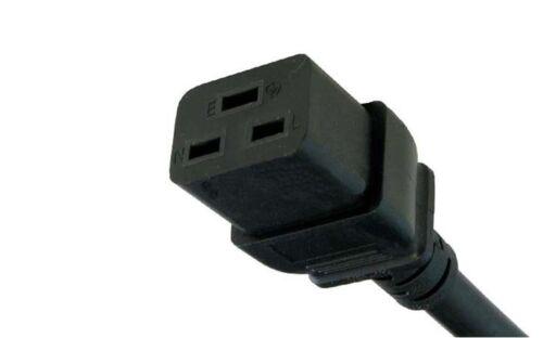 6FT/<E90 HP Pro DL585 IEC320 C19 14AWG NEMA 5-15P Server SJT Cable AC Power Cord