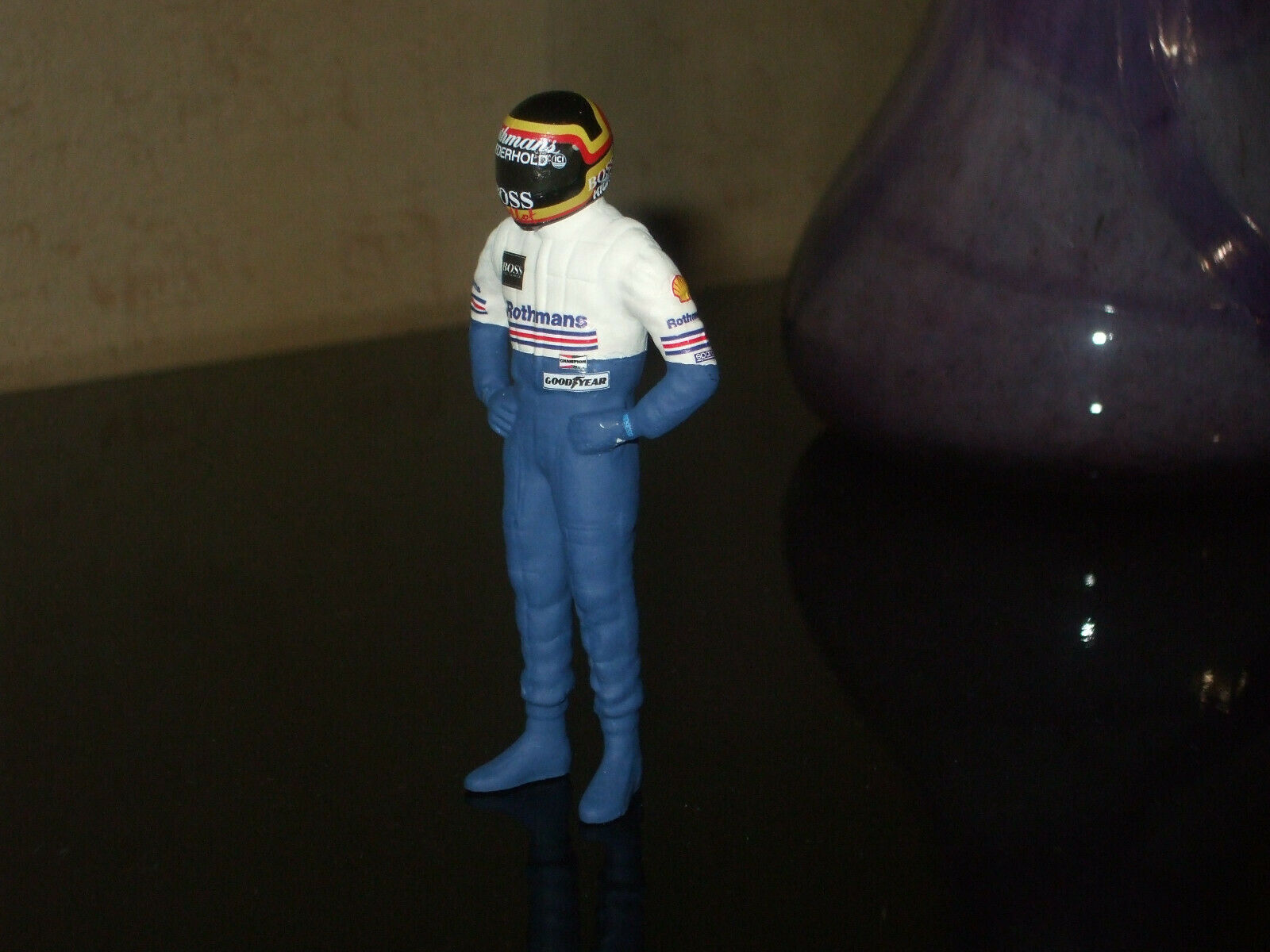 Tyrrell figurine 1 18 f1 s. bellof 1984 formula 1