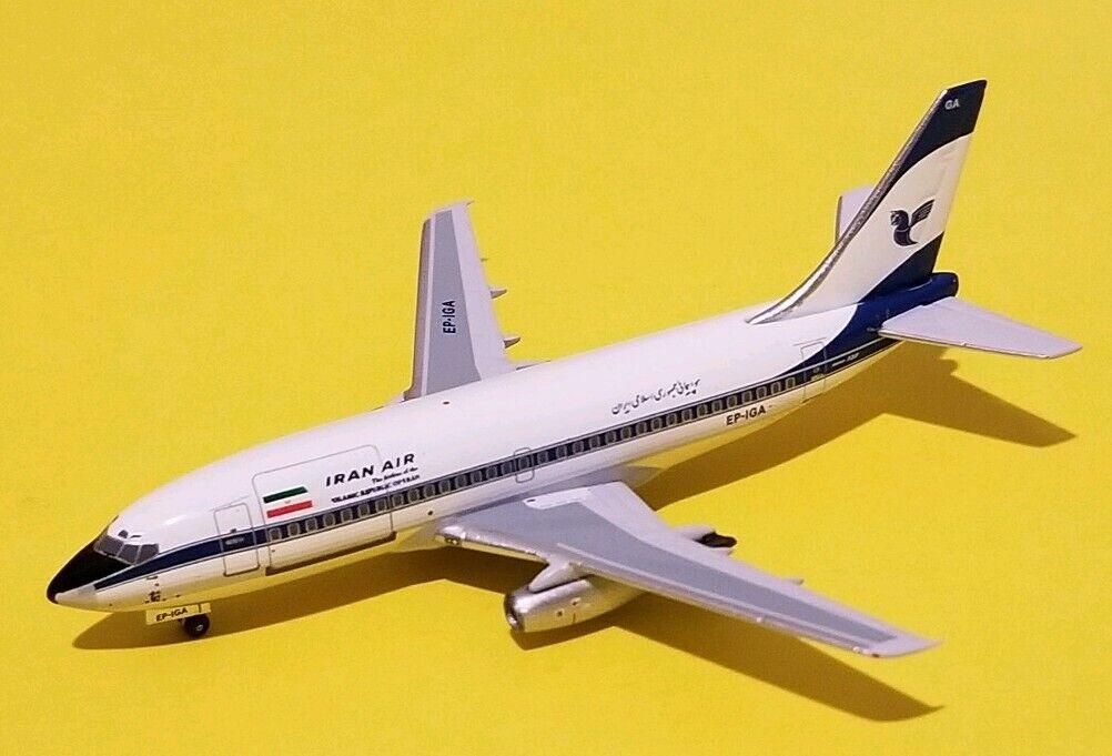 Aeroclassics 1 400 Iran Air 737-200C Post Revolution Livery EP-IGA Rare