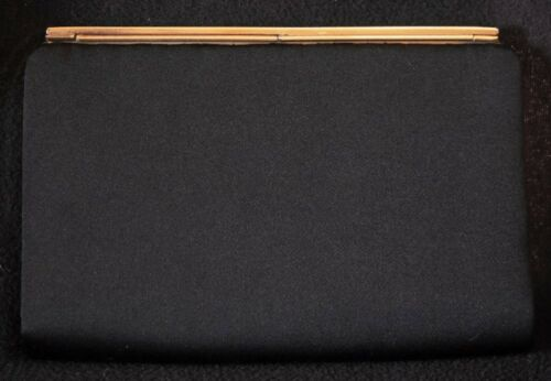 Clutch Rhinestone 1960 de Walborg Italia Catch Purse década Hecho elegante negro en 6RxdqCwE