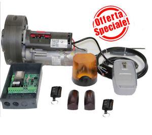 Kit motore per serranda avvolgibile 170kg con freno fotoc lamp telec blindino ebay - Serranda elettrica casa ...