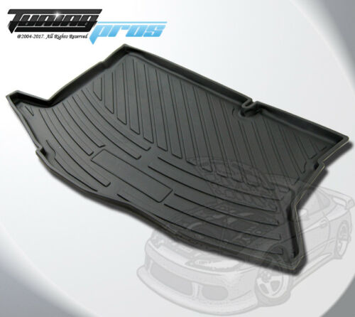 All Weather Cargo Liner Trunk Mat Black Custom Fit For Ford Fiesta 5DR 2008-2016