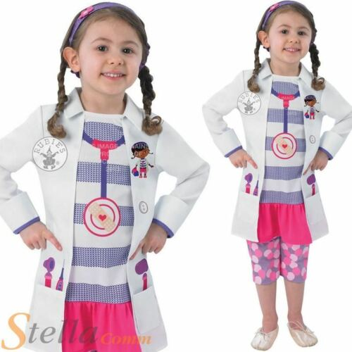 Girls Doc McStuffins Disney Book Week Fancy Dress Costume Child Outfit