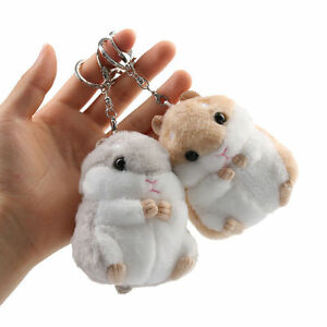 Cute-Trinket-Mini-Hamster-Plush-Pendant-Toy-Doll-Car-Key-Ring-Key-Chain-Fashion