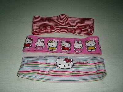 3 Bei Fasce Rosso Dolli + Rosa Con Hello Kitty-mostra Il Titolo Originale