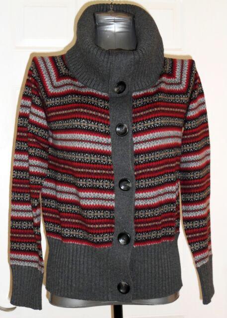 Sincere Womens Eddie Bauer Stretch V Neck ¾ Sleeve Sweater Size Medium Light Brown Panties