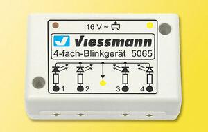 SH-Viessmann-5065-Vierfach-Blinkelektronik-fuer-Andreaskreuz