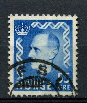 Stamps Europe Cheap Sale Norway 1950-7 Sg#426 55ore Bright Blue King Haakon Vii Definitive Used #a28406 Discounts Price