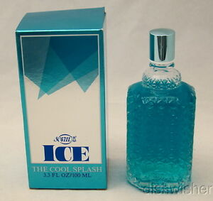 NEW-VINTAGE-Number-NO-4711-ICE-THE-COOL-SPLASH-3-3-oz-100-ml-NIB