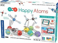 Happy Atoms Digital and Physical Chemistry learning Set Molecular education IOS