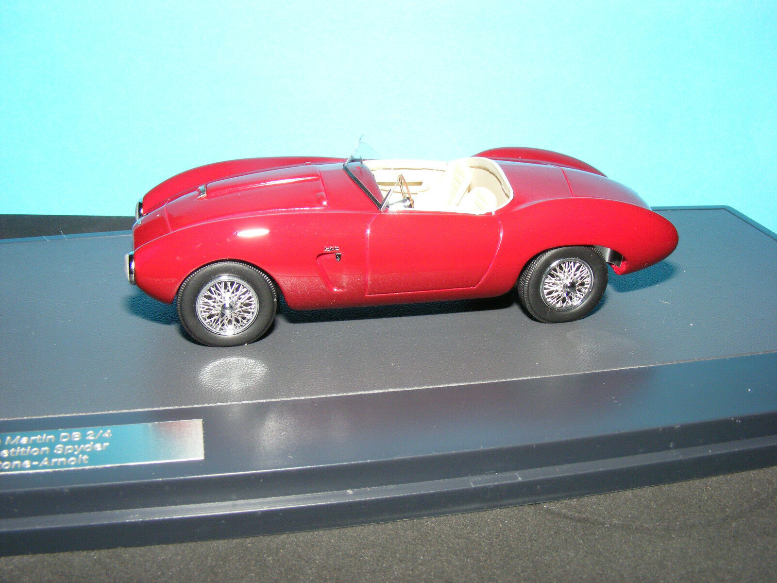 Aston Martin DB2 4 competencia Spyder Bertone-ARNOLT 1954 1 43 nla modelo de matriz