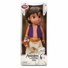 "NEW Disney Animators' Aladdin toddler doll 16"" Prince Princess collection"