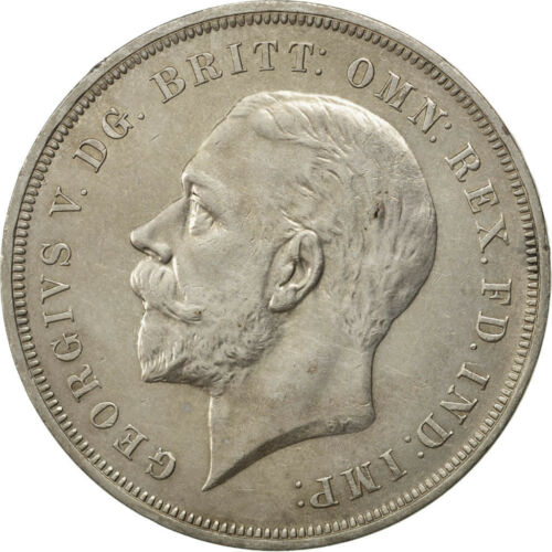 #72664 GREAT BRITAIN, Crown, 1935, KM #842, MS6062, Silver, 38.61, 28.23