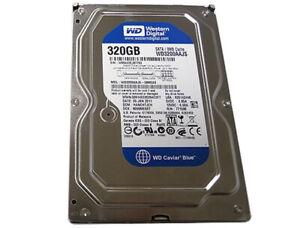 """Western Digital Caviar Blue WD3200AAJS 320GB 8MB 7200RPM SATA2 3.5"""" Hard Drive"""
