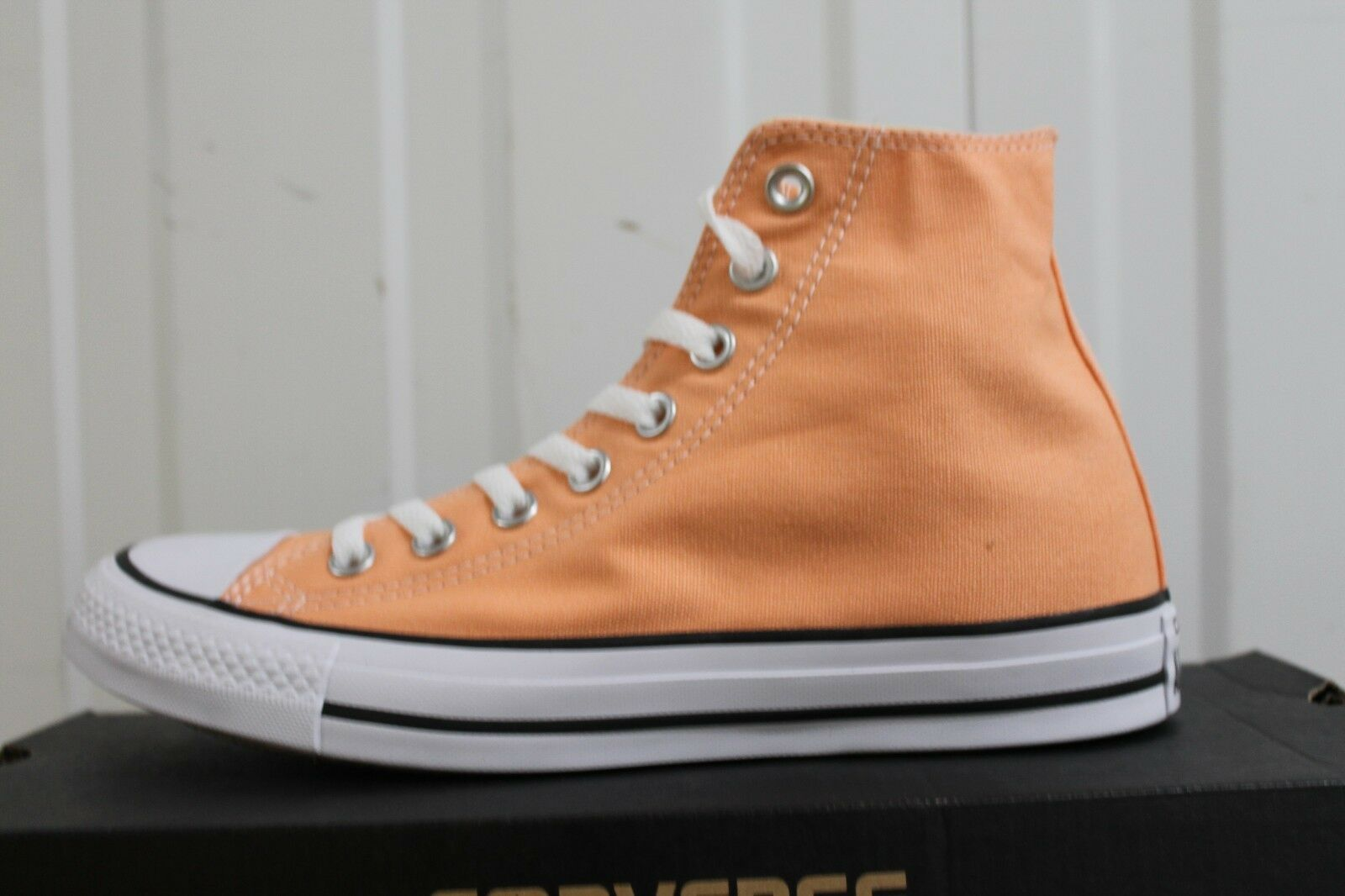 WOMEN,S CONVERSE CT OX GLOW HI PEACH SUNSET GLOW OX 155567C BNIB eb9cd9