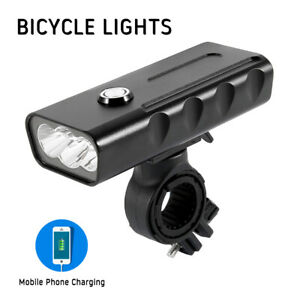 Fahrradbeleuchtung LED Fahrradlampe T6 Fahrrad Licht MTB Frontscheinwerfer USB