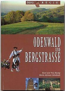 Odenwald und Bergstrasse (Stürtz Regio) | Buch | Zustand sehr gut