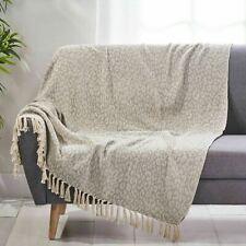 Zacari Boho Cotton Throw Blanket