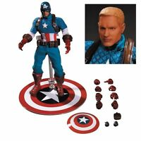 Captain America Marvel Mezco 1:12 Collective Action Figure