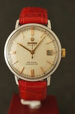 Omega Seamaster De Ville Golden Mercury Cal. 562 Arrow Hand Anno 1962 Kroko Band