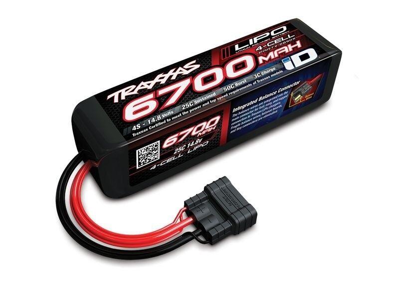 Traxxas Power Cell lipo 6700mah 14.8v 4s 25c, ID-macho - 2890x